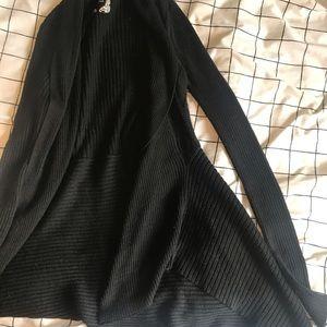 Flowy black cardigan
